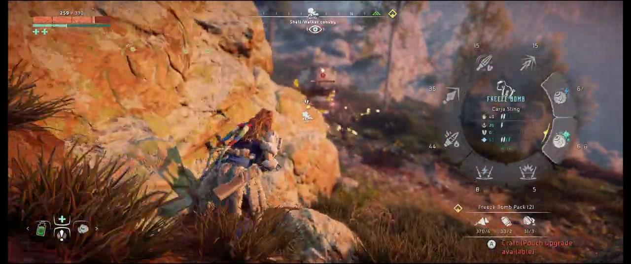 三段PC版《地平線:黎明時分》實機視訊分享