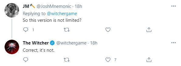 《巫師3》新改版的希裡與狐妖手辦即將上架 非限量款