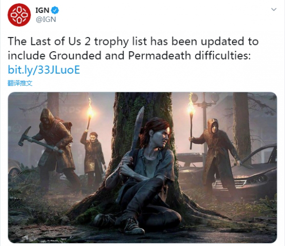 《最後生還者2》1.03更新後將增加新模式新難度