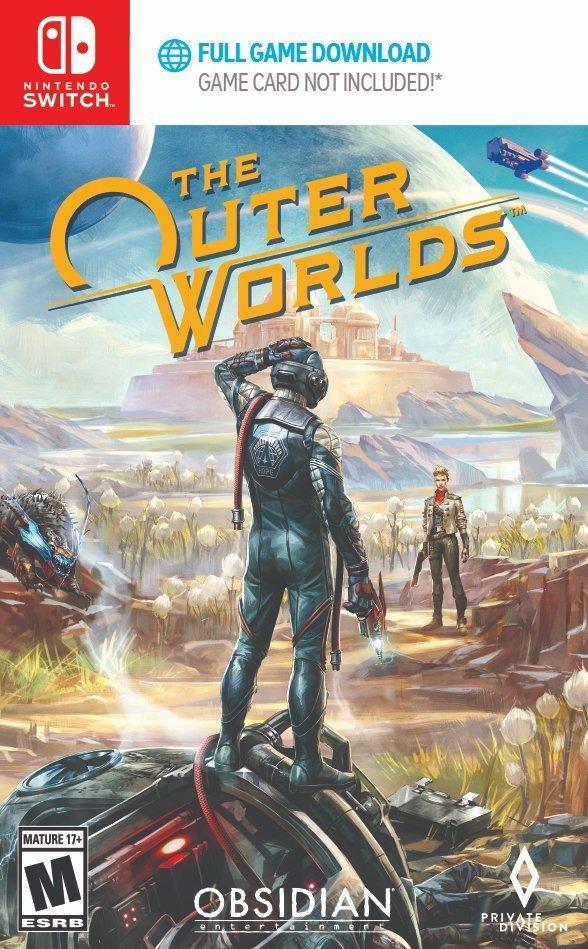 黑曜石名作《天外世界》Switch版發行日期公佈