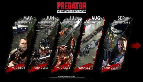 《鐵血戰士:狩獵場》新DLC將至 施瓦辛格上線