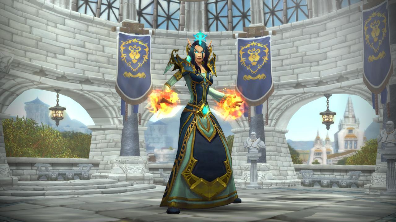 《魔獸世界》火法薪火太陽王輸出手法