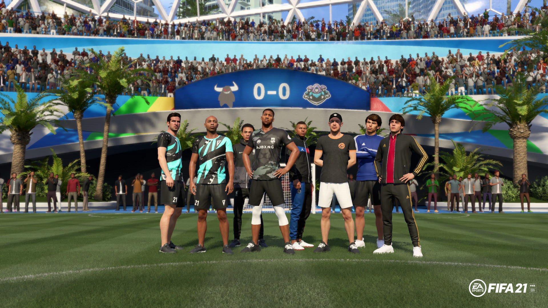 《FIFA 21》公佈VOLTA內可用明星及掉落物