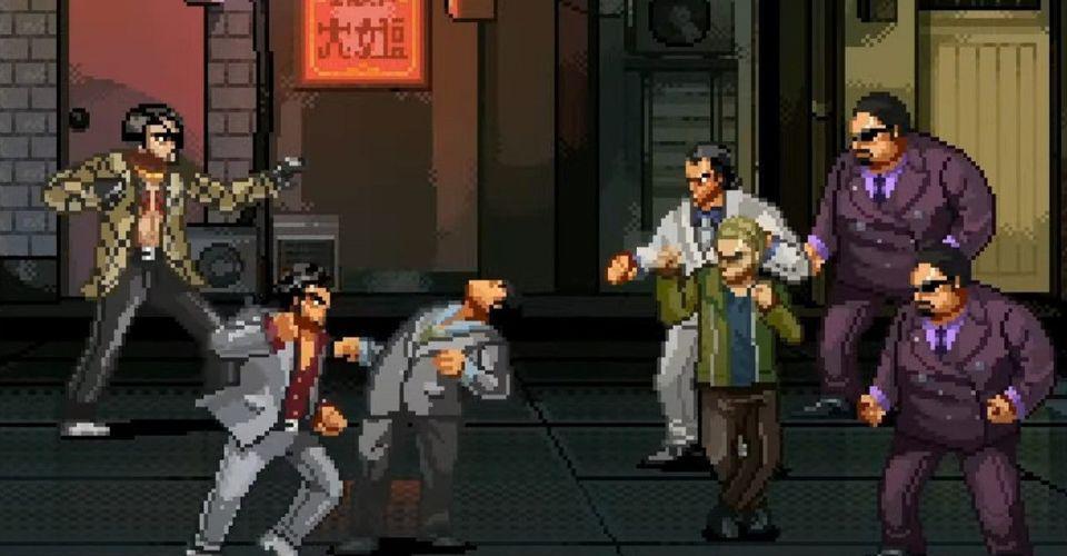 《人中之龍》改編2D清版新遊《神室町街頭》限時免費領取
