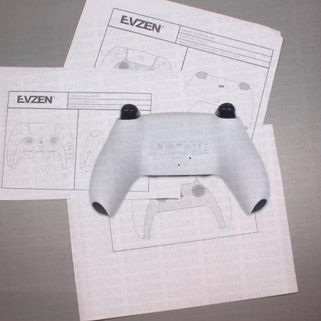 防滑花紋絲毫必現 PS5手柄細節圖展示