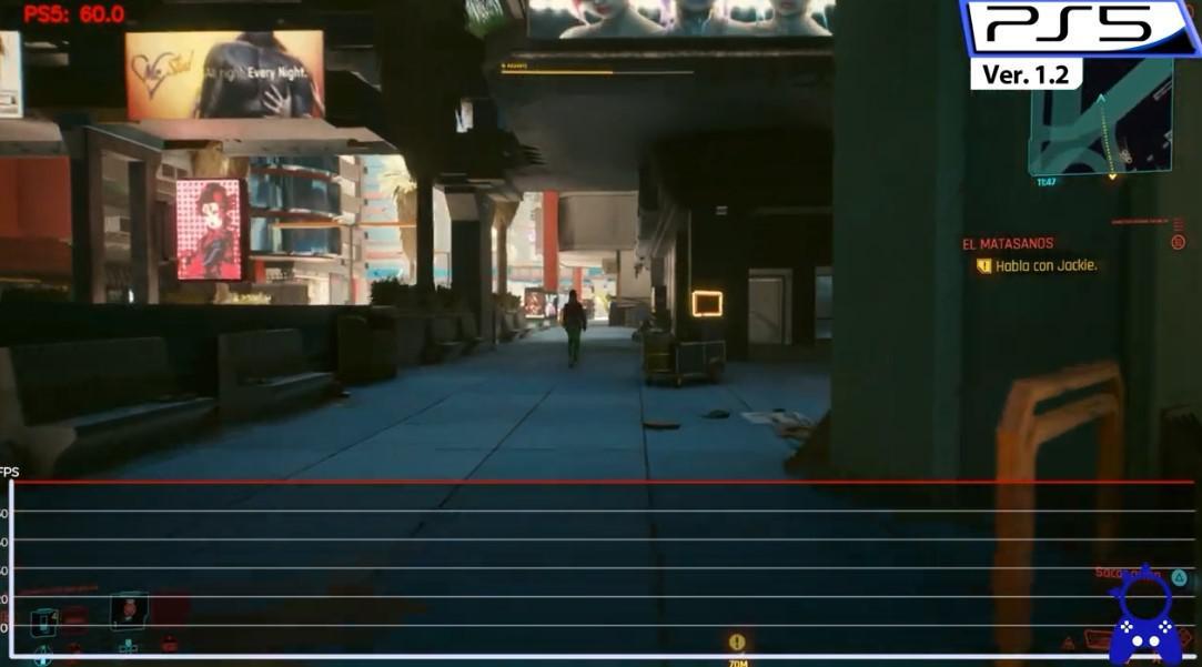 《賽博朋克2077》1.22補丁更新後幀數對比 更加穩定