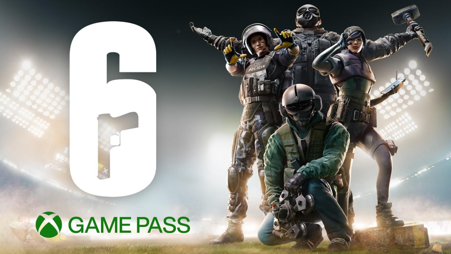 《彩虹六號:圍攻》10月22日加入主機端Xbox Game Pass