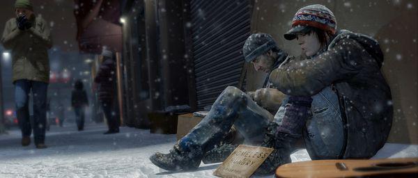 互動電影類遊戲《超凡雙生》在Steam平臺正式發售