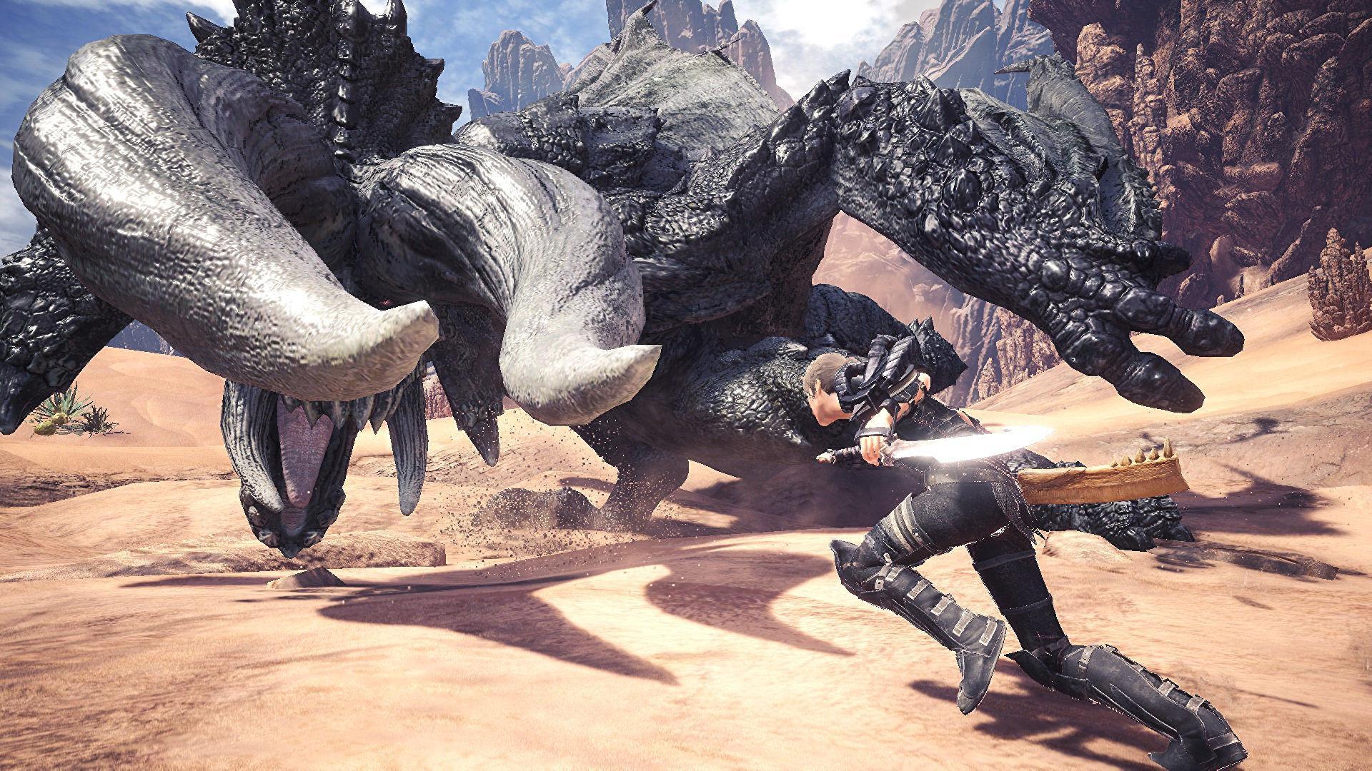 爆料人看錯 索尼沒有給《魔物獵人世界》延後登PC付錢