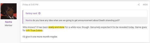 訊息稱PS5《死亡擱淺》擴充套件版已做好只等釋出