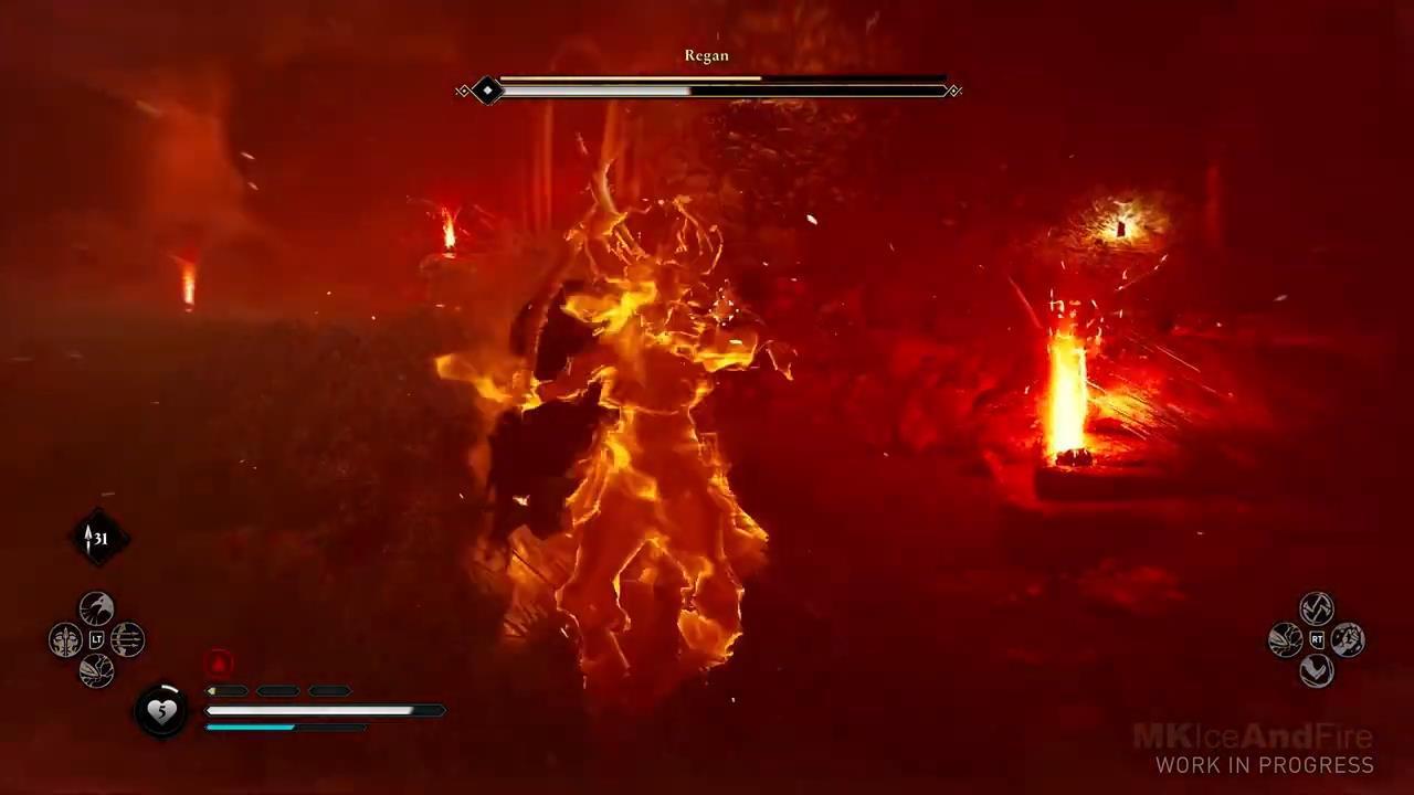 《刺客教條:英靈殿》Boss戰演示 近身戰相當刺激