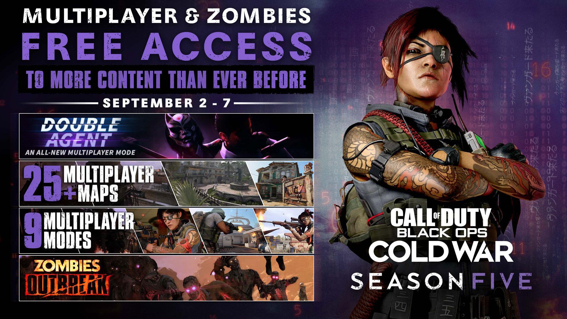 COD好訊息:《決勝時刻17》免費試玩週末及《戰區》新封禁潮開啟