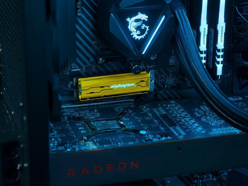 希捷《賽博朋克2077》限定版SSD亮相 售價約1542元