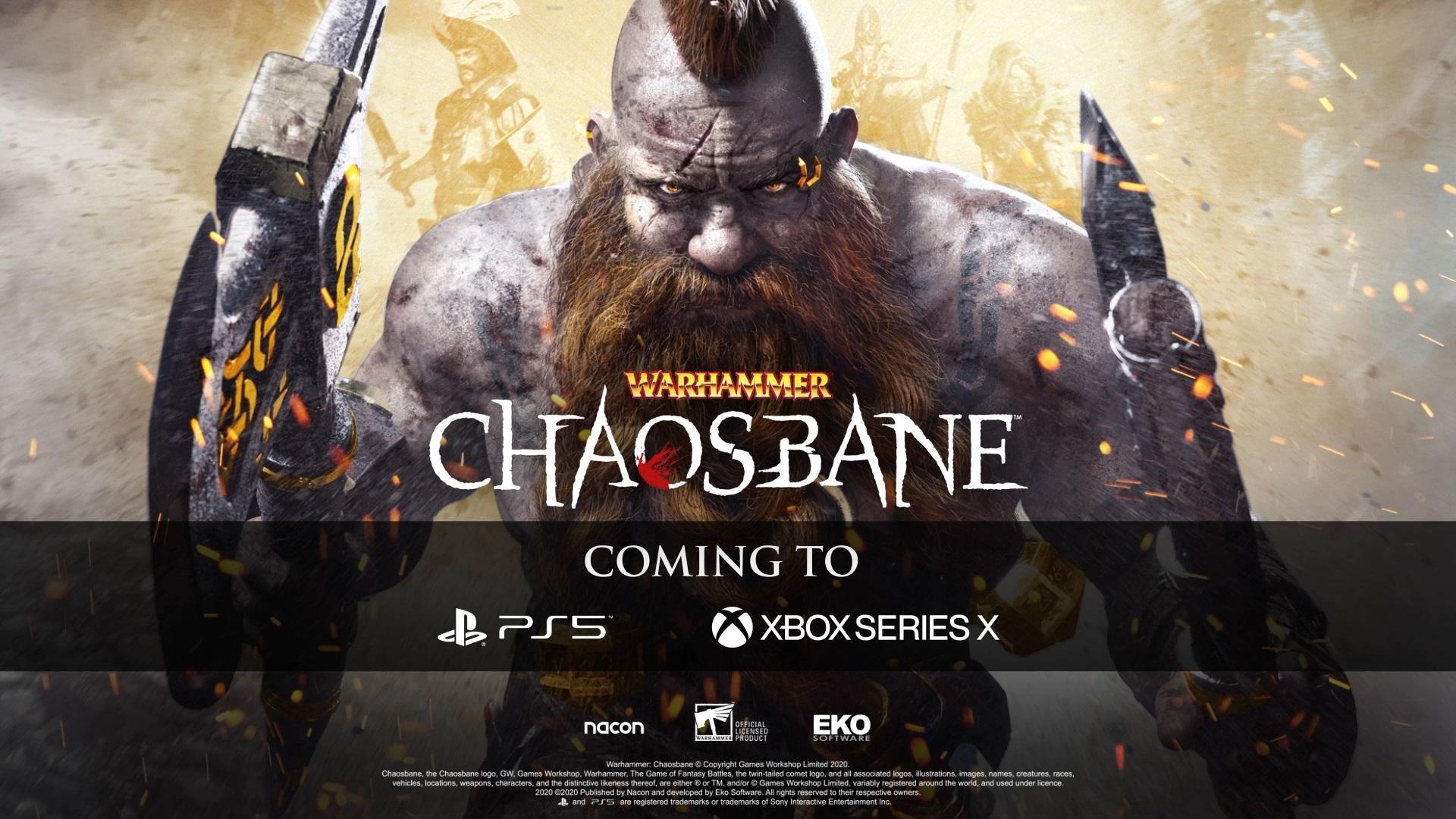 《戰錘:混沌禍根》將登陸次世代家用遊戲機平臺