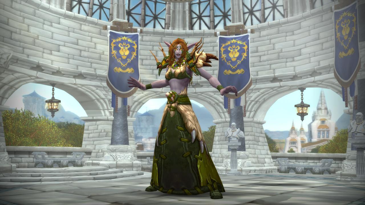 《魔獸世界》9.1奶德盟約選擇