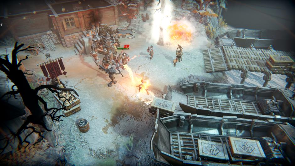時間操控機制的戰術性RPG《魔鐵危機》公佈全新中文預告片, 遊戲將於3月25日推出