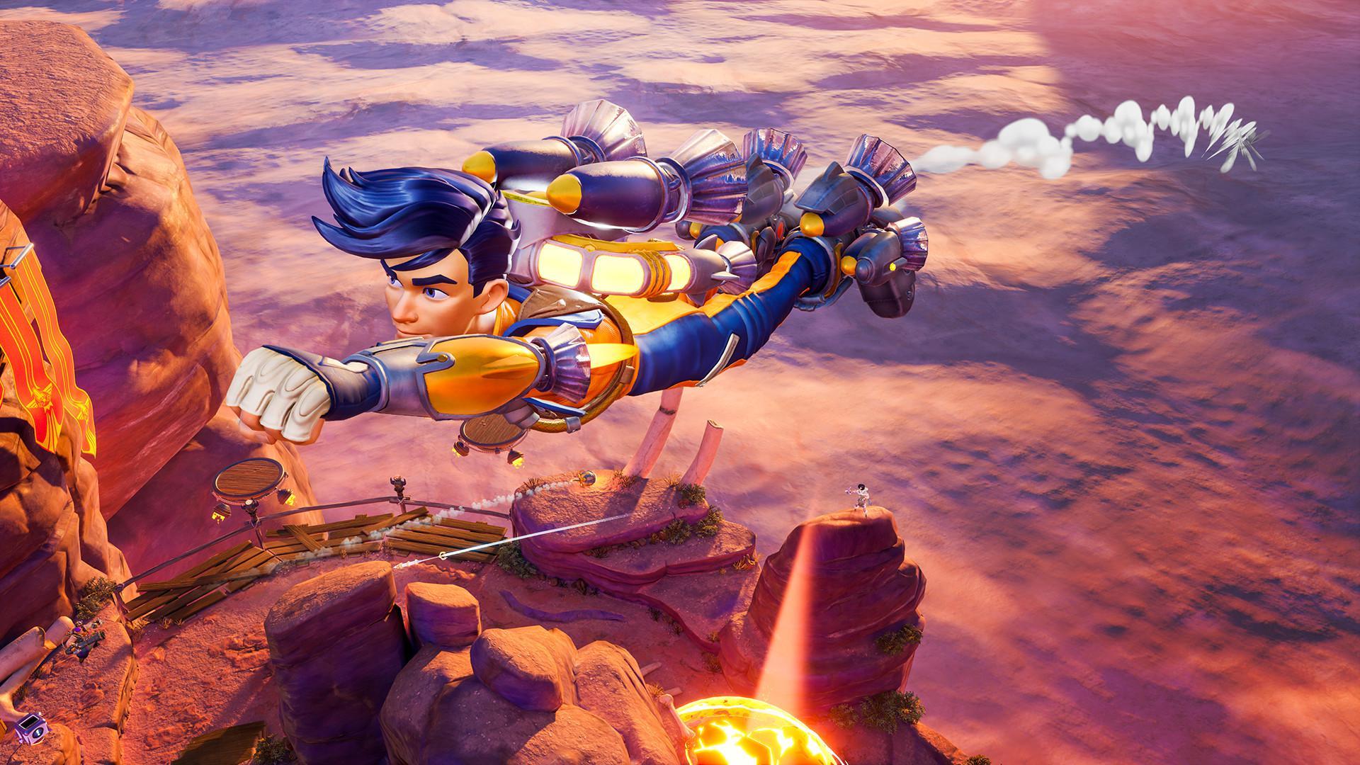 3V3射擊遊戲《火箭競技場》開啟免費試玩 8月3日截止