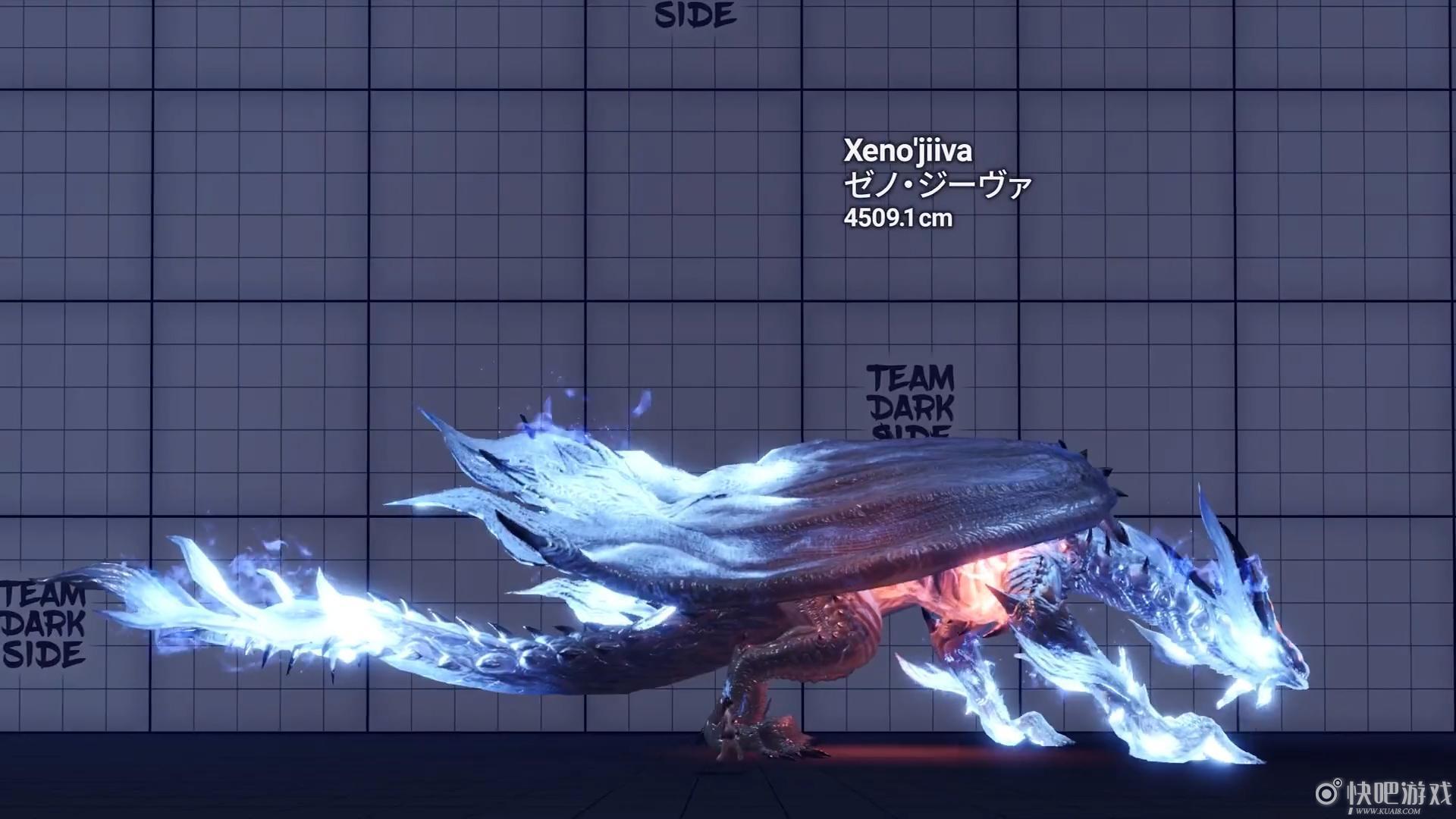 《魔物獵人 世界》怪物尺寸對比